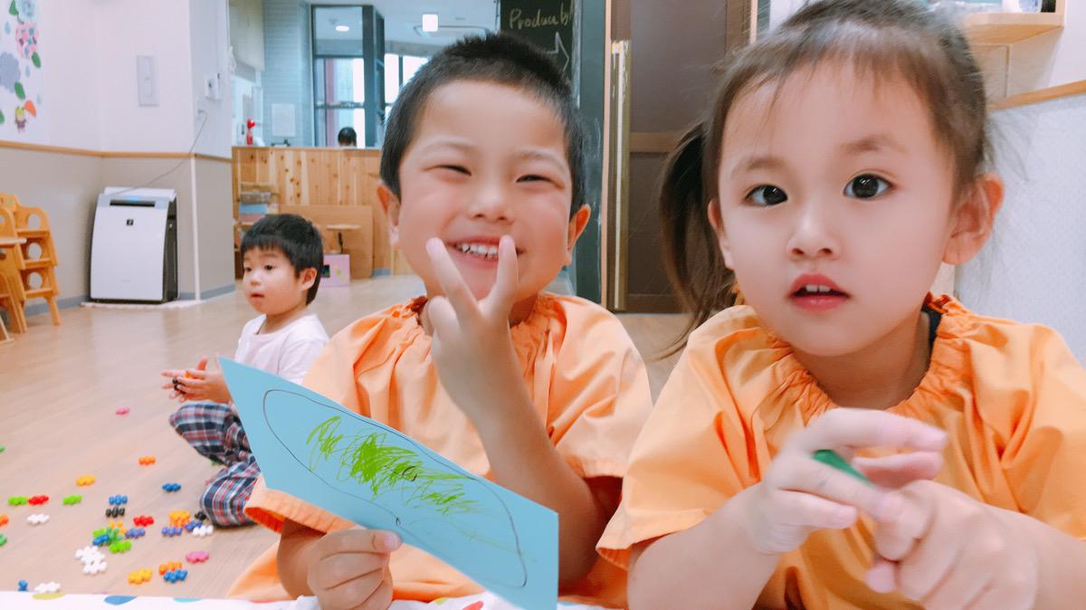 保育園での遊び体験!! 大阪・上本町の保育園レオラ