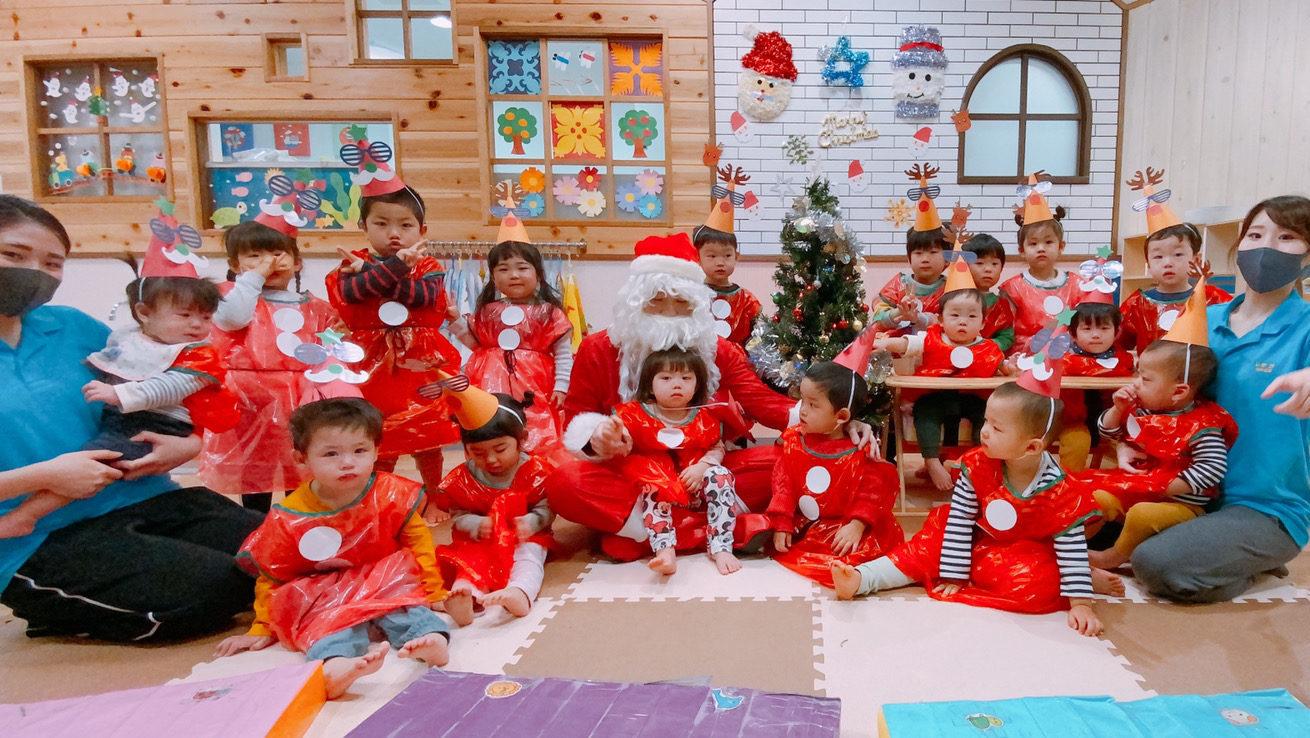 クリスマス会をしました!|大阪・上本町の保育園レオラ