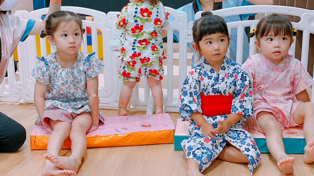 夏祭りをしました! 大阪・上本町の保育園レオラ